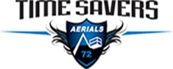 Time Savers Aerials Logo